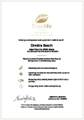 Travelife Gold Certificate